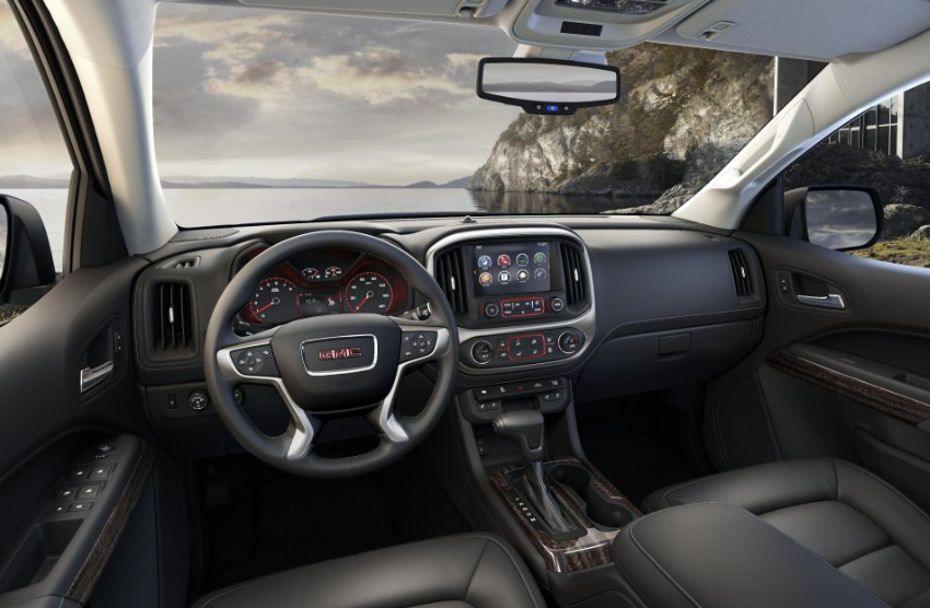 2019 GMC Canyon Interior Changes