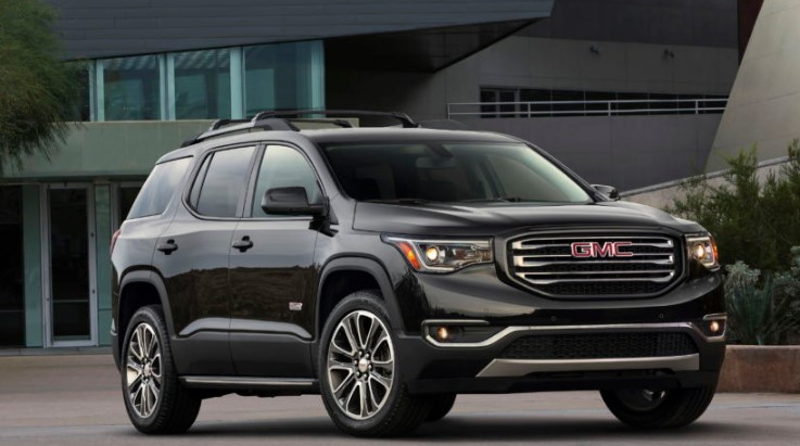 2021 gmc acadia configurations review colors  2021 gmc