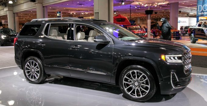 2022 gmc acadia canada changes price release date  2021 gmc