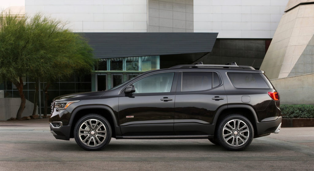 2019 GMC Acadia Review Features Design Release Date