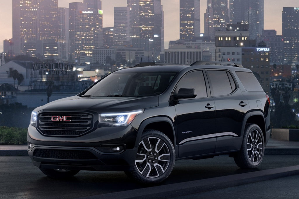 2019 GMC Acadia And Terrain Sport Black Editions For New