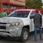 2021 GMC Canyon And Chevy Colorado Front End Spy Shots