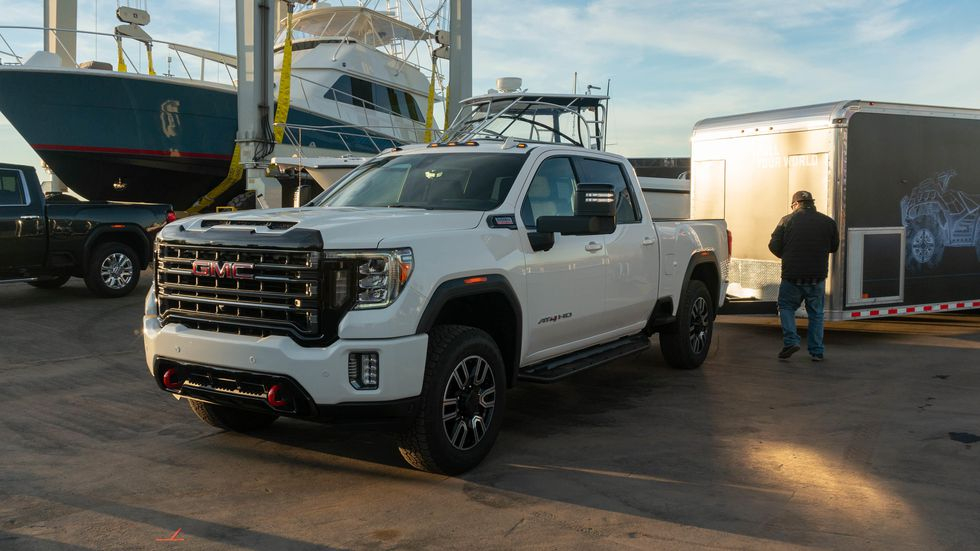 2020 GMC Sierra HD Revealed With New Camera Tech Off road