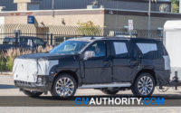 2021 Gmc Yukon Slt Spy Photos Gas Mileage Redesign